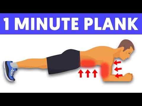 What will happen if you plank every day for 1 minute