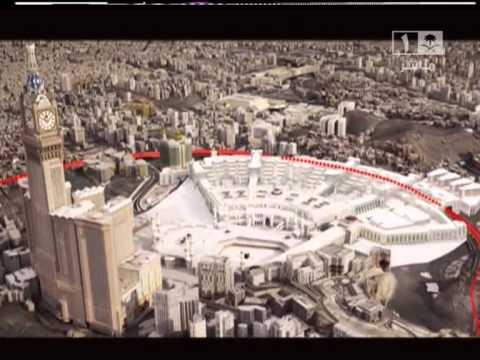 شكل الحرم بعد انتهاء توسعة الملك عبد الله