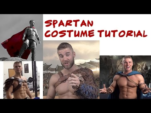 Spartan Costume Tutorial - Where to Find Best 300 Costumes