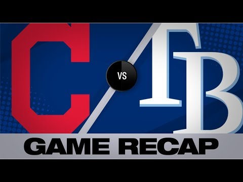 Video: Rays smack 4 home runs in 9-6 win | Indians-Rays Game Highlights 8/31/19