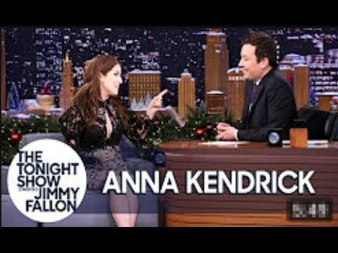 Anna Kendrick forced to walk!! to Jimmy Fallon interview after her hotel catches fire