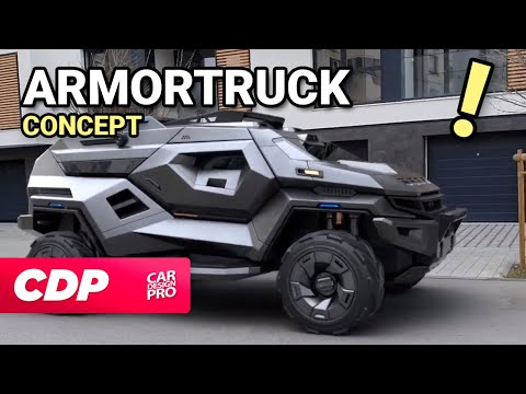 ARMORTRUCK - No Virus Can Enter This Armored Truck!