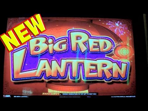Big Red Lantern NEW SLOT MACHINE Las Vegas Slots Win