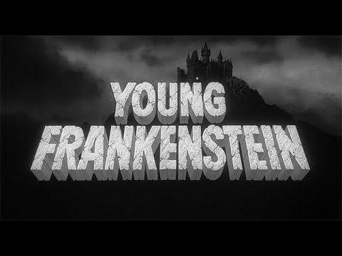 Young Frankenstein 1974 title sequence