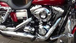 5. 2008 FXDL HARLEY-DAVIDSON DYNA LOW RIDER @ West Coast Harley-Davidson, Glasgow, Scotland