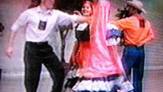 Folklore Salvadoreño. Ambiente Festivo. Ballet Folklorico Nacional El Salvador.