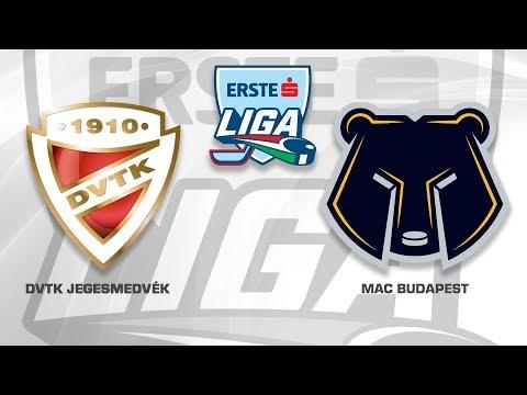 Erste Liga 175. forduló: DVTK Jegesmedvék - MAC 2-5
