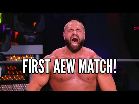 Miro's First Match in AEW!