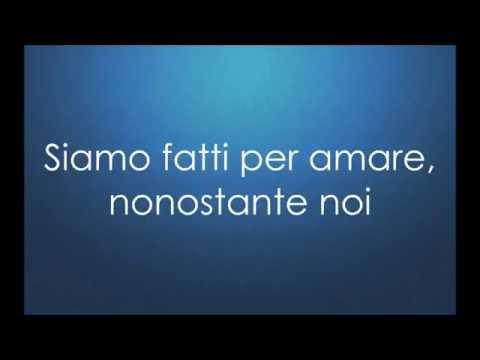 , title : 'Fatti avanti amore - Nek + testo  (Sanremo 2015)  [Lyrics]'