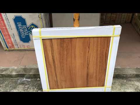 Gạch vân gỗ 60x60 cao cấp giá rẻ|Gạch giả gỗ 60x60 Hoàng Gia