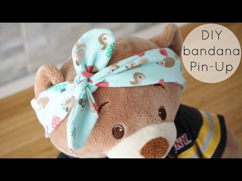 DIY Bandana Tipo Pin-Up