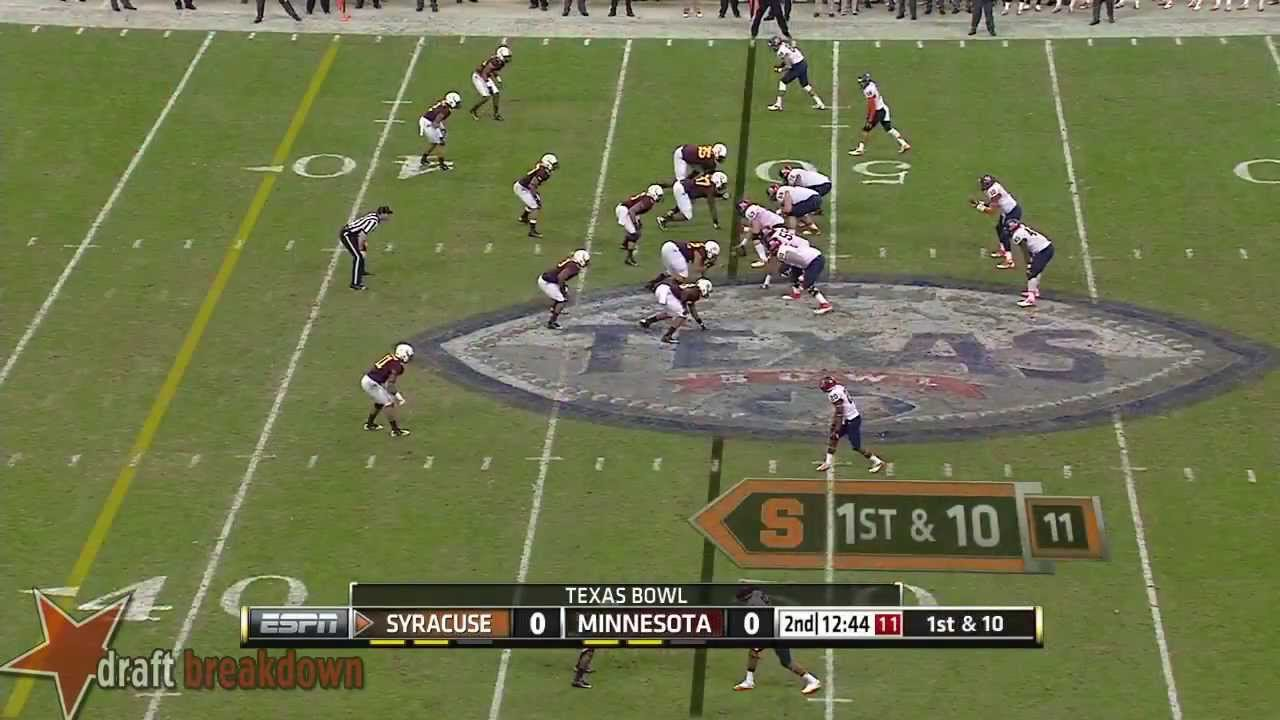 Sean Hickey vs Minnesota (2013)