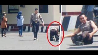"Video Saat Polisi ""Kuman Bangsa"" Dihukum Merangkak MP3, 3GP, MP4, WEBM, AVI, FLV Juli 2017"