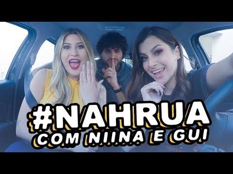 #NahRua com Niina e Gui!!! #Desafio  Nah Cardoso