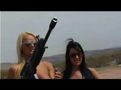 Playboy TV's BADASS Babes Naked with Big Guns