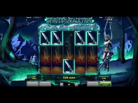 Игровой автомат Spirits of the Valkyrie (Novomatic)