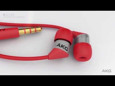 AKG K323 XS - Ultra small in-ear headphones