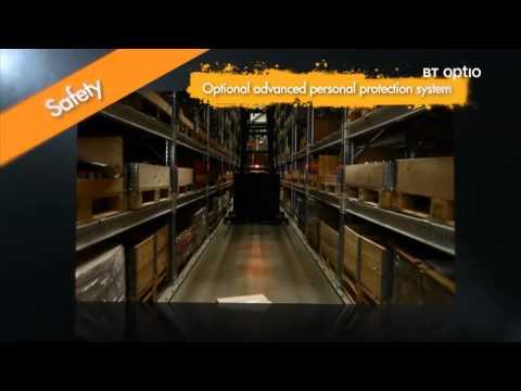 BT Optio H Series Order Picking Trucks/ Forklifts Feature Video
