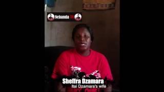 Sheffra Dzamara, the wife of abducted and missing activist Itai Dzamara, has thanked all the well-wishers who donated towards...