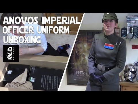 Anovos Imperial Officer Uniform Unboxing