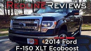 2014 Ford F-150 XLT Ecoboost Review, Walkaround, Exhaust,&Test Drive