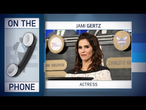 Actress Jami Gertz Explains Her Hawks Role at NBA Draft Lottery to Rich Eisen I Full Interview