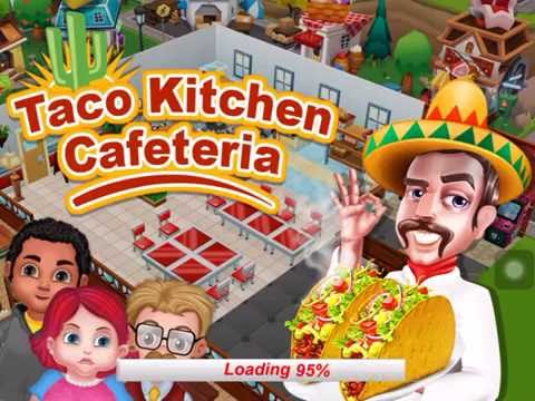Game Taco Kitchen Cafeteria - Game for Kids