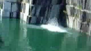 Gainer off 80 foot Quarry
