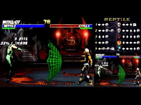 ultimate mortal kombat nintendo ds cheats