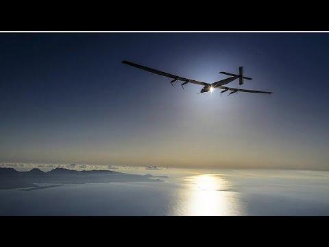 Solar Impulse: Προσγειώθηκε στην Καλιφόρνια το πρωτοποριακό ηλιακό αεροσκάφος
