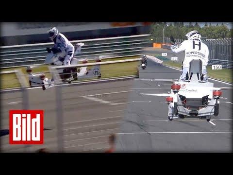 Hoverbike Scorpion-3 - Wie aus einem Star Wars Film