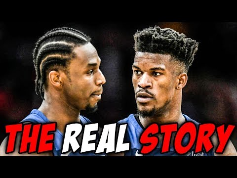 What Happened Between Jimmy Butler And Andrew Wiggins?
