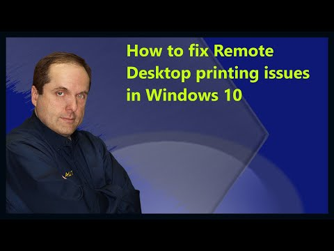 How to fix Remote Desktop printing issues in Windows 10