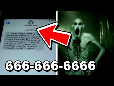 666-666-6666 CONTACTED ME BACK 2017 (PLEASE WATCH)