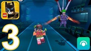 LEGO Batman Movie Game - Gameplay Walkthrough Part 3 - Robin (...