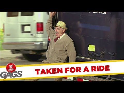 Disabled Man Taken for a Ride Prank - Youtube