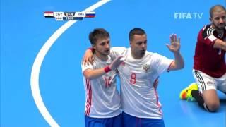 Video Match 16: Egypt v Russia - FIFA Futsal World Cup 2016 MP3, 3GP, MP4, WEBM, AVI, FLV Juli 2017
