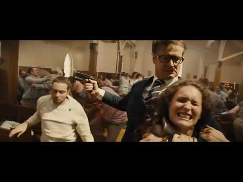Kingsman The Secret Service - Church Fight.