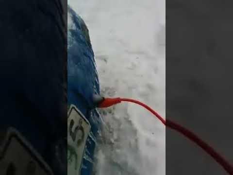 Soğuk havalarda araba ısıtma yöntemi :)
