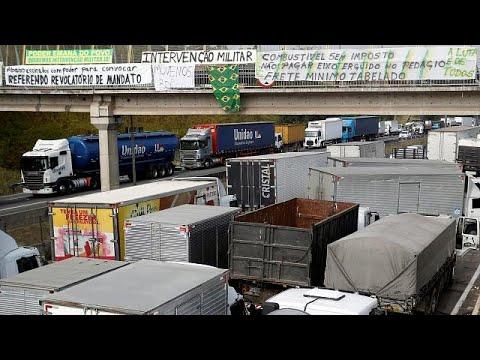 Βραζιλία: 2,5 δισ. ευρώ κοστίζει η απεργία των φορτηγατζήδων…