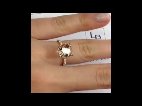 3.67 Ct Morganite Ring SOR-14185 (SOR-14818)