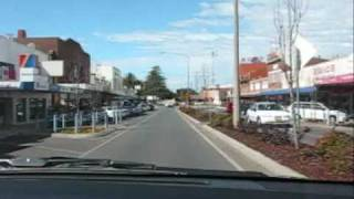 Leeton Australia  city photos gallery : Driving Down Irrigation Way in Leeton NSW Australia