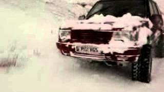 Range Rover P38 In The Snow