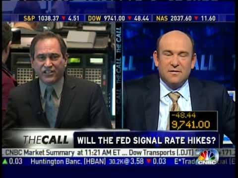 Rick Santelli Explodes At CNBC Panelist, Walks Off Camera