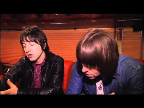 Gem Archer - Interview with Liam and Gem from Beady eye, Recorded before they played at the Leeds o2.