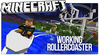 Video This Working Minecraft Roller Coaster Has Loops, Drops, Corkscrews, More! (Minecraft Custom Mod Map) MP3, 3GP, MP4, WEBM, AVI, FLV Desember 2017
