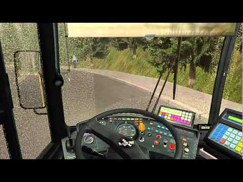 OMSI The Bus Simulator - Trip at Saasdorf to Bad Kinzau - Line 299