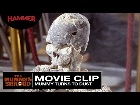The Mummy's Shroud / Mummy Turns To Dust (Official Clip)
