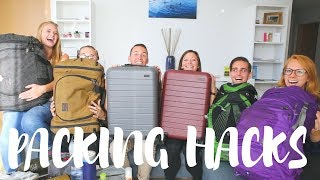 Download Video PACKING TIPS FROM 6 FULL-TIME TRAVELERS! MP3 3GP MP4