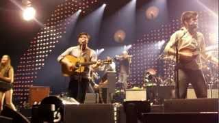 Mumford and Sons, Featuring Ben Howard and Haim. The Weight 2-12-13
